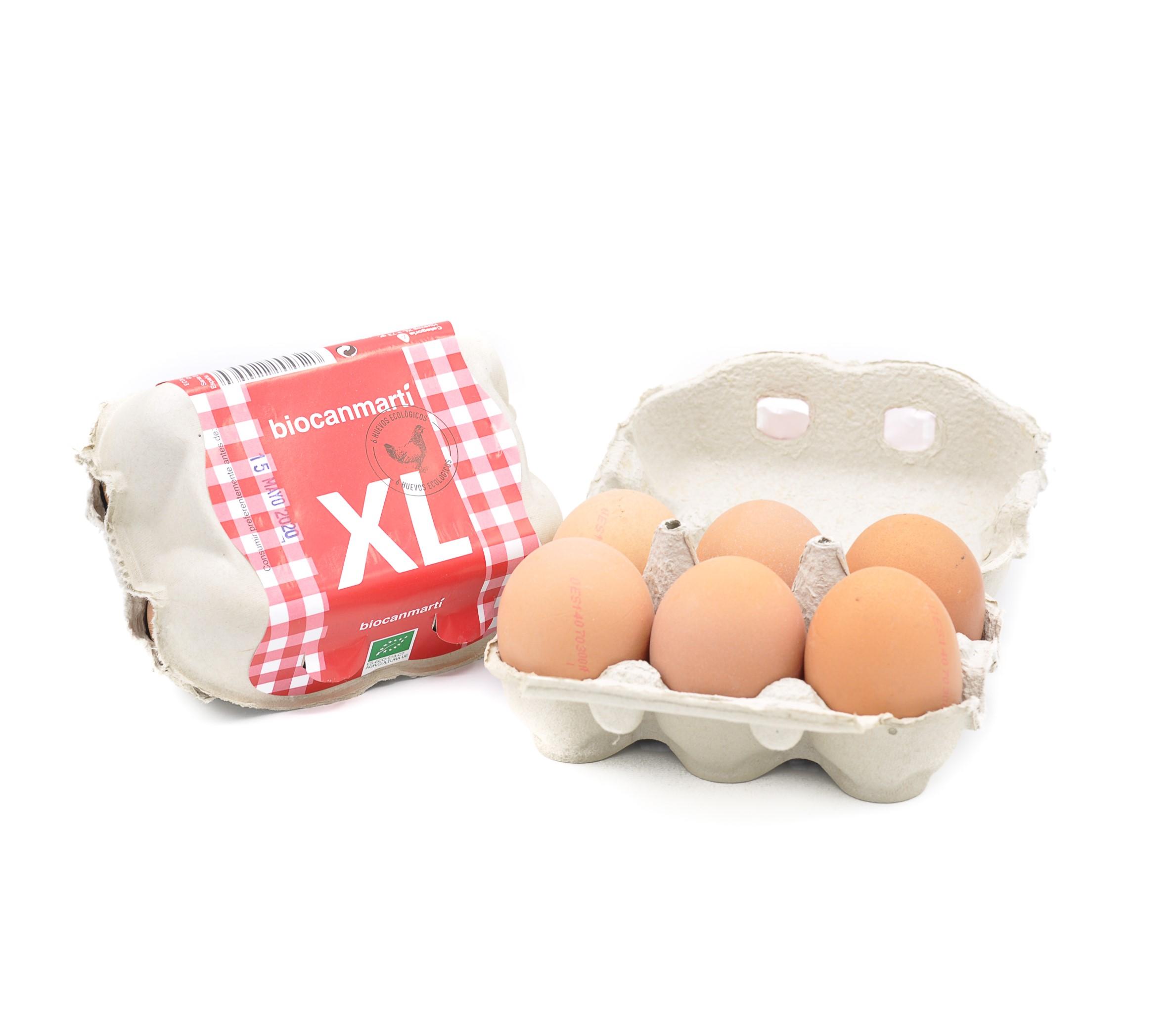 Ous ecològics XL