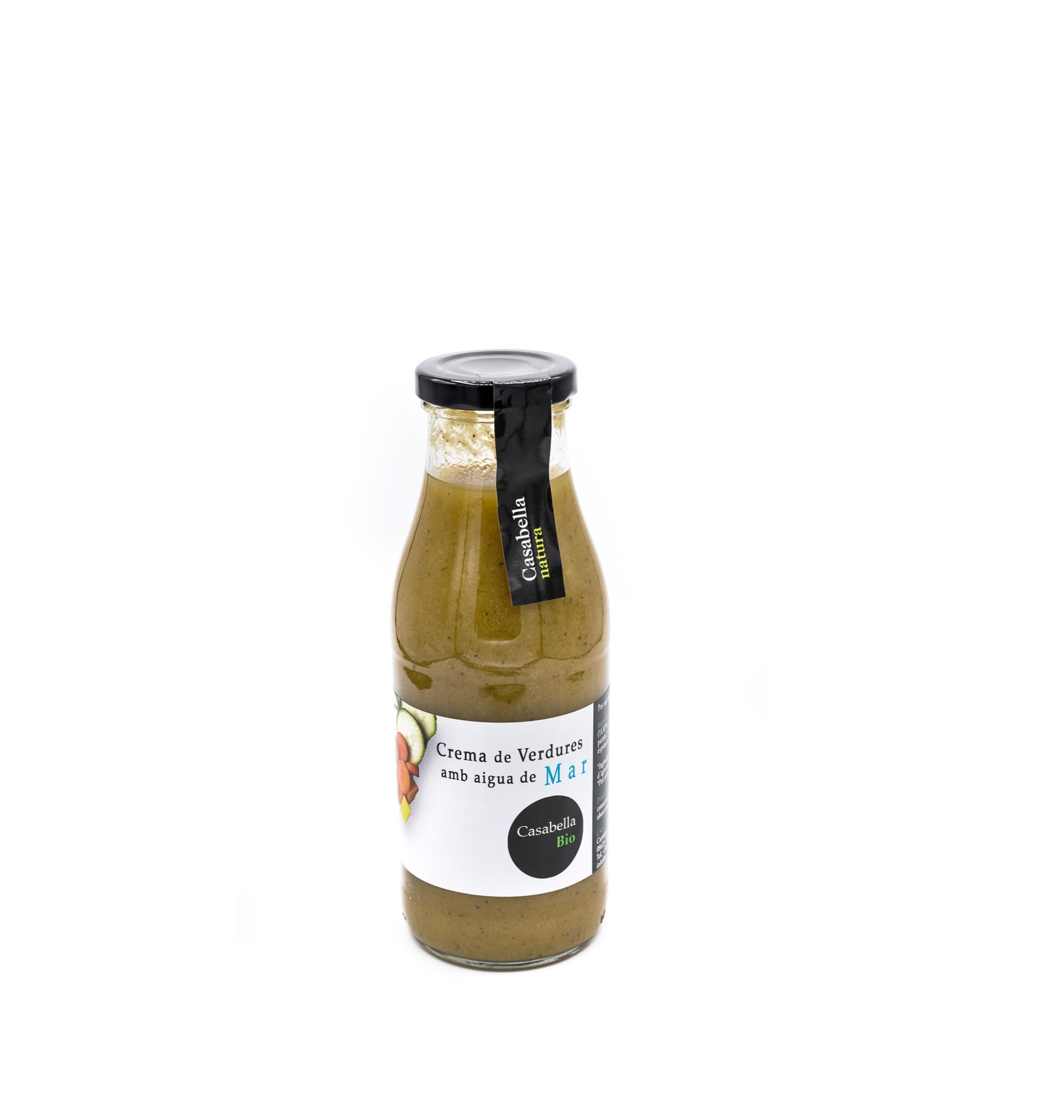 Crema de verdures amb aigua de mar eco 500ml