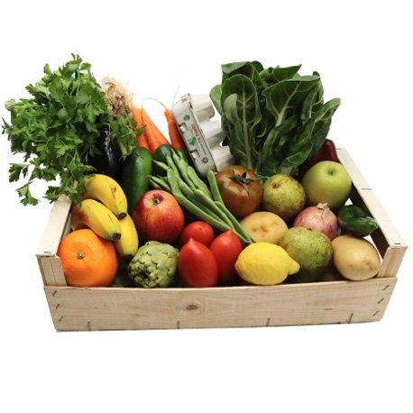 Cesta Verdura y Frutas